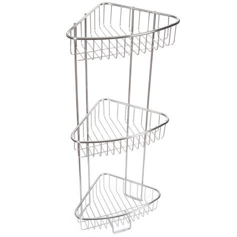 stainless steel shower caddy corner 301 moved permanently