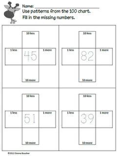 number pattern chart hundred chart patterns printables math sheets charts