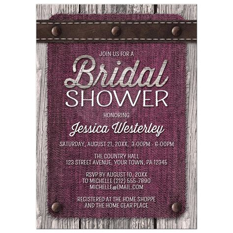 26 images of rustic wedding shower invitation template tonibest com