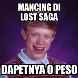 Mancing Lost Saga meme bad luck brian mancing di lost saga dapetnya 0 peso