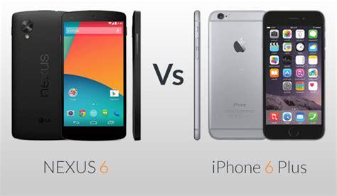 nexus 6 vs iphone 6plus techno faq