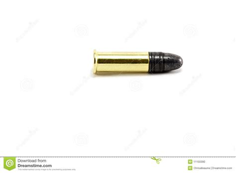 bullet for a profile a small 22 bullet stock photo image of automatic