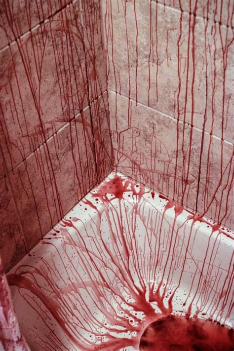 crime scene bathroom decor halloween decorations bathroom to scare away your guests