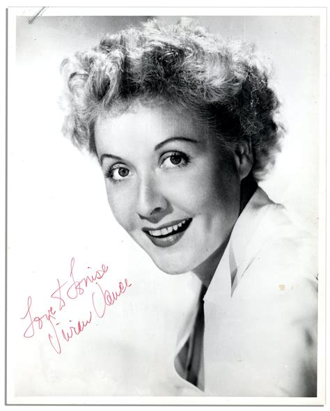 vivian vance lot detail i love lucy legend vivian vance signed 8