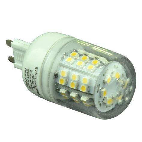 leuchtmittel led licht trend g9 led leuchtmittel 187 3er set 2 4w highpower