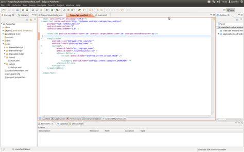 layout modification xml location tunelko androidmanifest xml una declaraci 243 n de intenciones