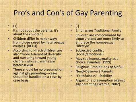 gay parenting research paper