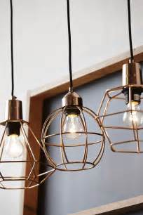 Hanging Kitchen Lighting 20 Exles Of Copper Pendant Lighting For Your Home
