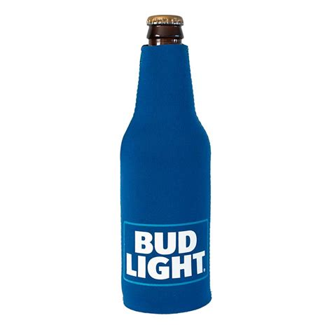 bud light bottle bud light foam bottle cooler