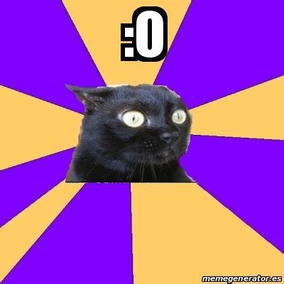 Anxiety Cat Meme Generator - meme anxiety cat o 18570325