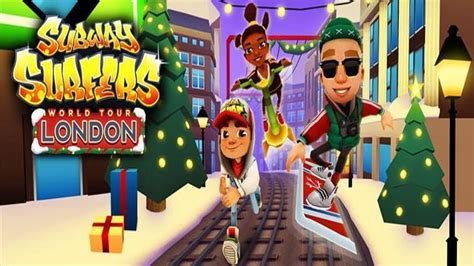 Charming Christmas Trees Miami #10: Subway-surfers-london.jpg