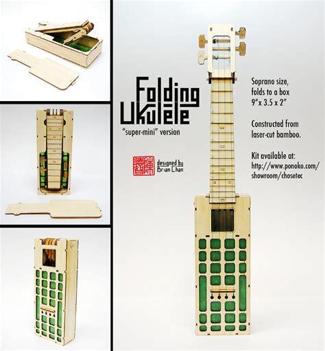 Origami Expert - origami expert creates folding ukulele kits geekologie