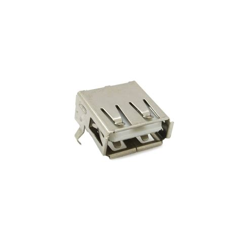 Soket Socket Usb Type A 4 usb type a 4 pin dip right angle socket