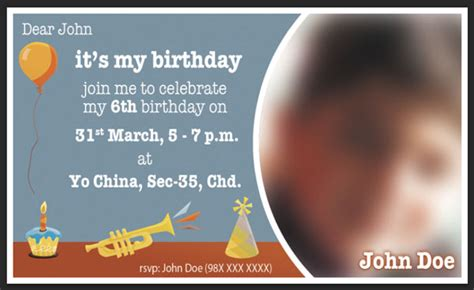 Birthday Invitation Card Template Photoshop by Designing A Print Ready Birthday Invitation Card In