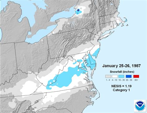 Worst Snowstorm In History January Weather History