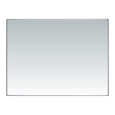 flat bathroom mirror everton 1200 x 900mm polished flat edge mirror bunnings