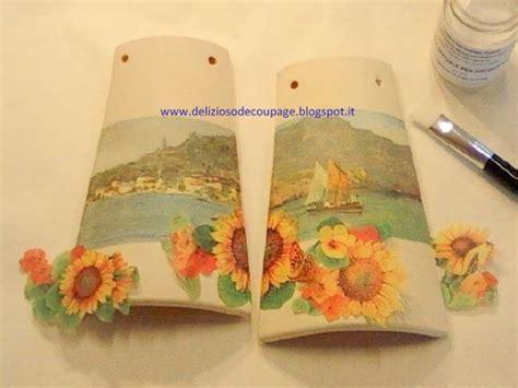 tutorial decoupage tegole delizioso d 233 coupage d 233 coupage e decorazioni creative su