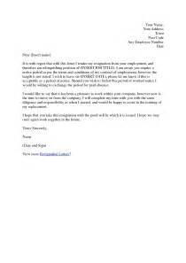 Best Resignation Letter Without Notice Period Resignation Letter Format Ideas Letter Of