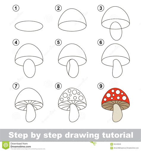 pattern drawing games drawing tutorial how to draw a stoadtool stock vector