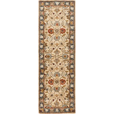 12 foot runner rugs artistic weavers gold 3 ft x 12 ft rug runner s00151007275 the home depot