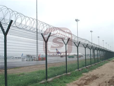 airport perimeter security fencing skyhall fence