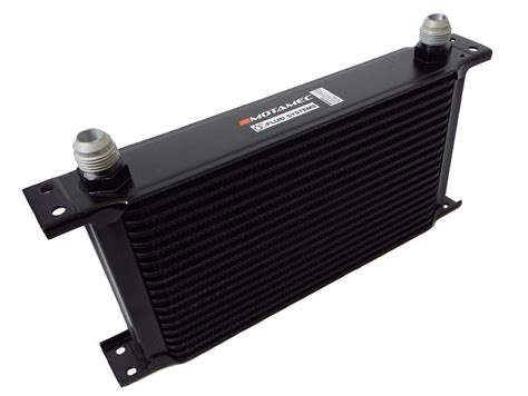 oil cooler with fan motamec oil cooler 19 row 235mm matrix 10 an jic