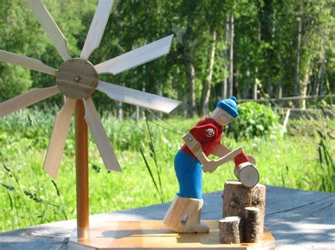 wood chopper windmill wooden windmill garden windmill