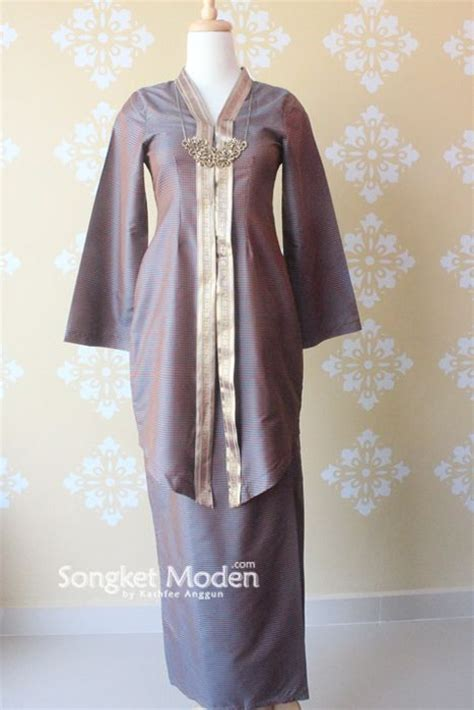 design gaun songket kebaya songket pastel google search wedding kebaya
