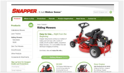 review of snapper lawn mowers