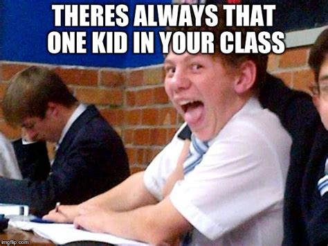 In Class Meme - overly excited school kid imgflip