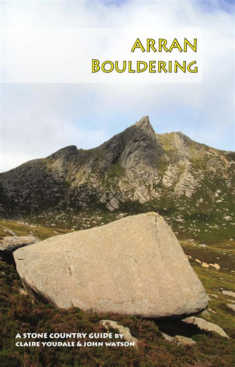 Country Bouldering Mat by Arran Bouldering Guide By Country Issuu