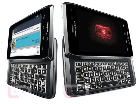top (best) full keyboard qwerty android phones 2012