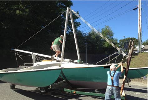 boats for sale in old lyme ct marples 26cc trimaran 2001 old lyme connecticut