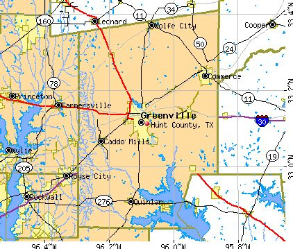 map of hunt county hunt county detailed profile houses real estate
