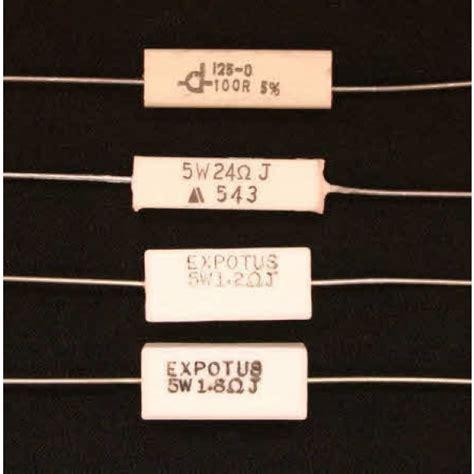 ceramic resistor crossover ceramic wire wound resistors 5w resistors pots switches