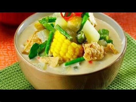 cara membuat zupa zupa sederhana resep cara membuat sayur lodeh sederhana paling enak youtube