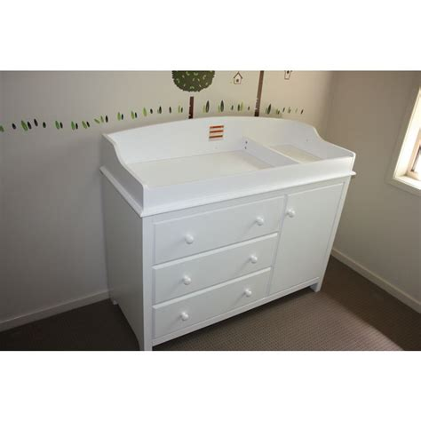 white changing table with drawers white baby change table chest of drawers cabinet buy