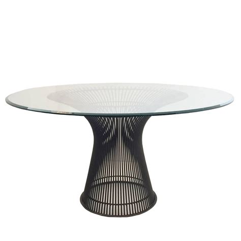Bronze Dining Table By Warren Platner For Knoll For Sale Platner Dining Table
