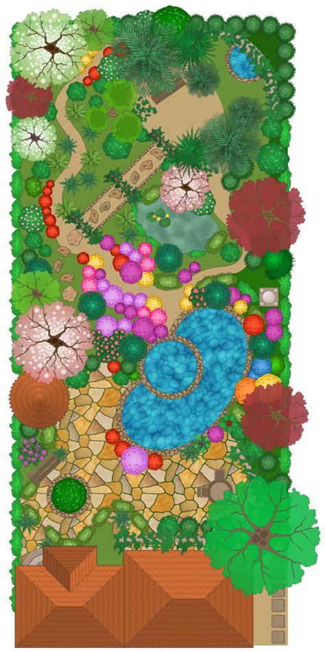 modern garden design     garden design landscape architecture  conceptdraw