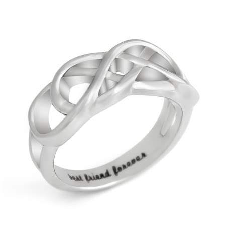 tzaro jewelry friends infinity ring promise ring