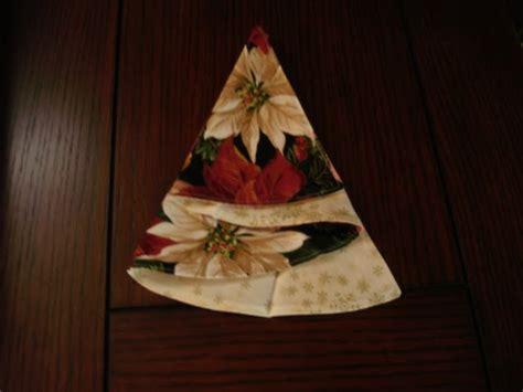 pattern folded christmas tree napkin everything sewing christmas tree napkins
