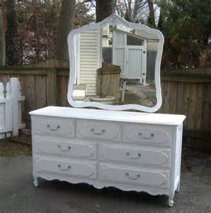 reserved for michelle white vintage shabby chic furniture