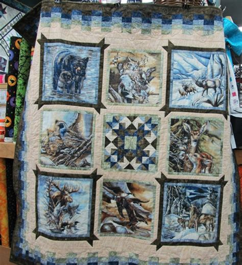 nature quilt pattern 327 best eagle wolves deer and nature quilts images on