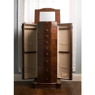 sears mirror jewelry armoire jewelry armoire stand store your jewelry in royal style