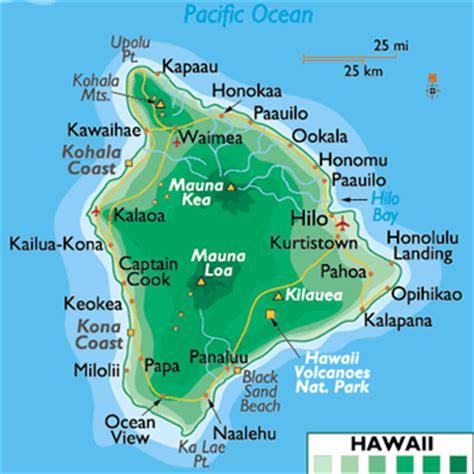 hawaii big island map big island hawaii map free printable maps