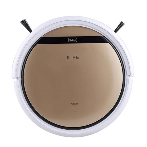 Robotic Vacuum Cleaner Sharp ilife v5s led smart cleaning robot floor vacuum