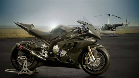 superbike bmw srr  helicopter hd wallpaper