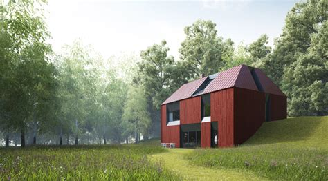 houses built on slopes tind prefabricated houses by claesson koivisto rune homeli