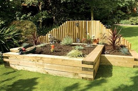 Garden Improvement Ideas Garden Improvement Ideas Using Railway Sleepers Ljn Posts Landscape Juice Network