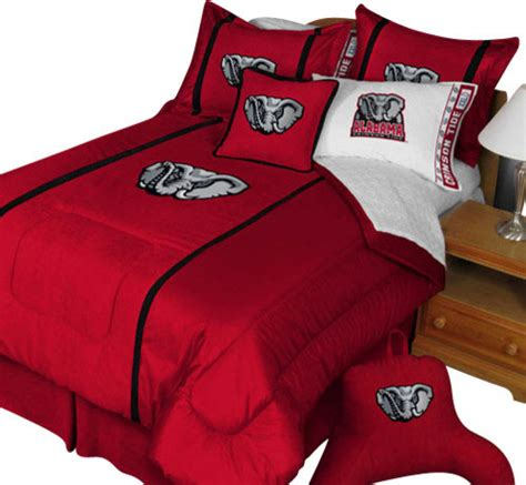 Alabama Comforter by Alabama Crimson Tide Comforter Pillow Sham Mvp Bed
